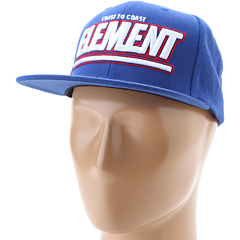SALE! $14.99 - Save $11 on Element Parallel Snapback Hat (Royal) Hats - 42.35% OFF $26.00