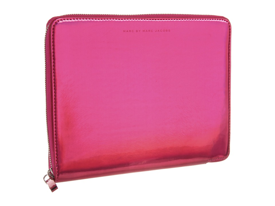 Marc by Marc Jacobs - Techno Tablet Sleeve (Rose Holographic) Computer Bags