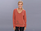 Life is good French Terry V-Neck Pullover