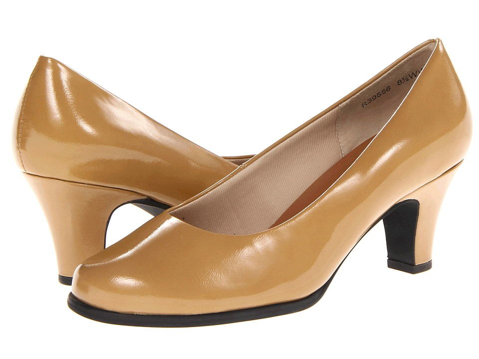 Rose Petals - Cabby (Nude Patent) High Heels