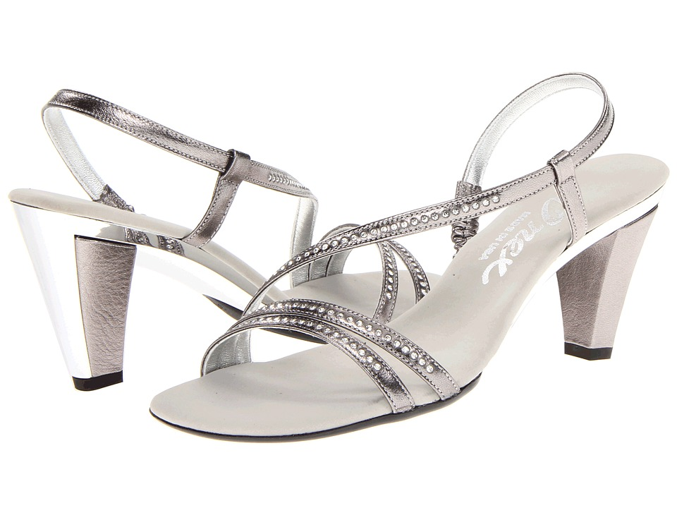 Onex - Magic-3 (Pewter Leather) High Heels