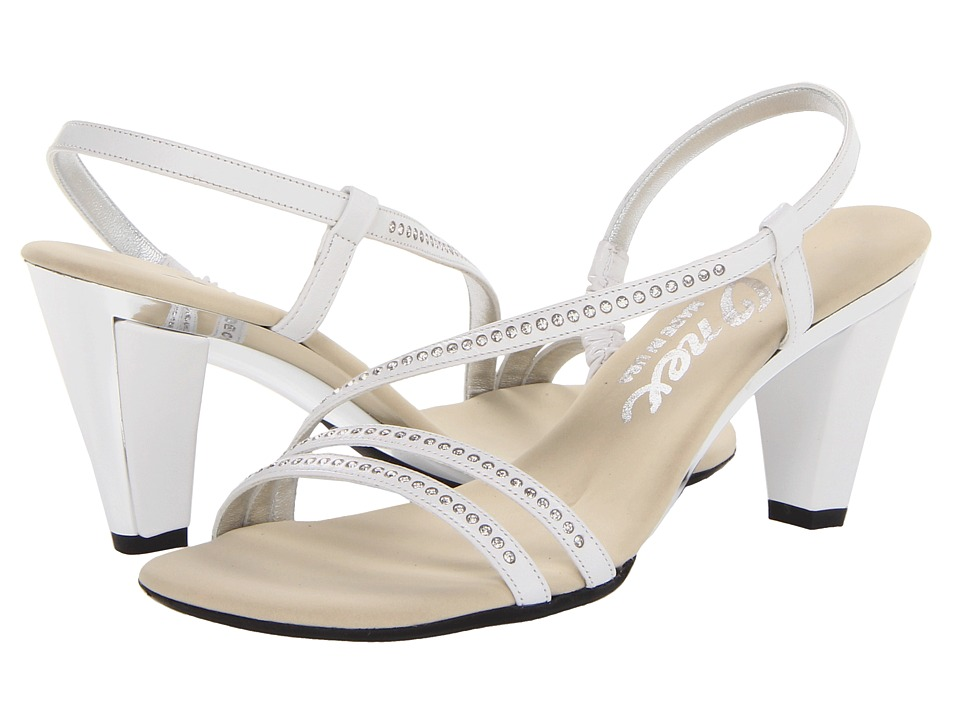 Onex - Magic-3 (White/Silver) High Heels