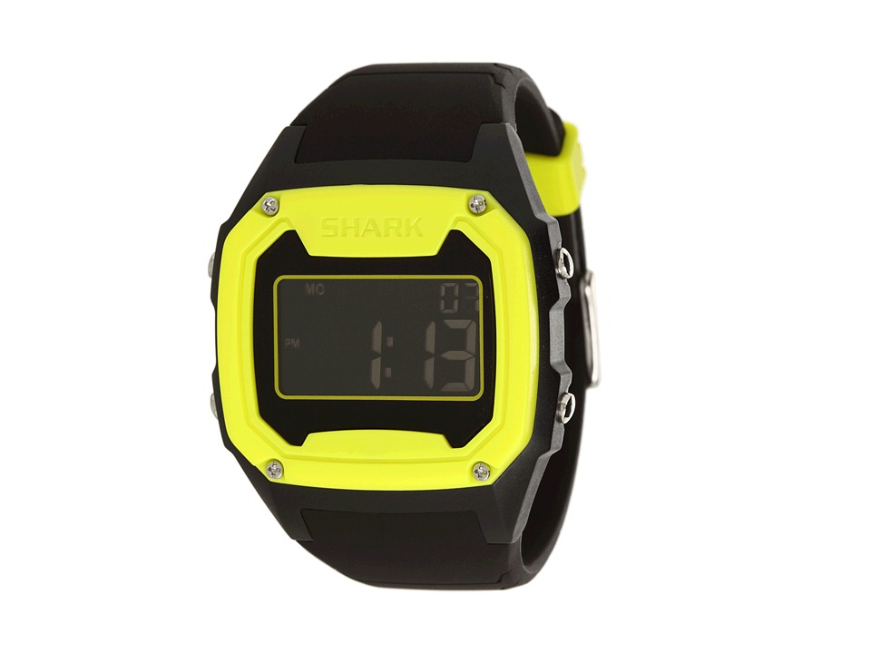Freestyle - Killer Shark Silicone (Yellow/Black) Watches