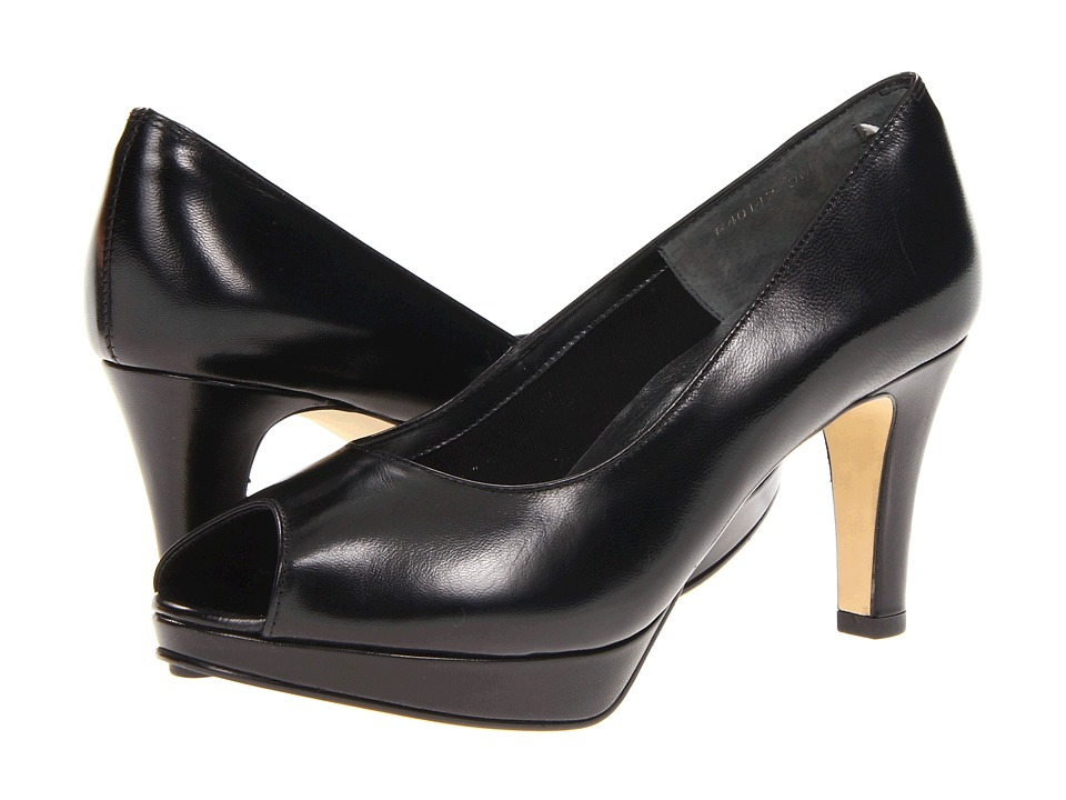 Rose Petals - Prom (Black Kid) Women's Shoes