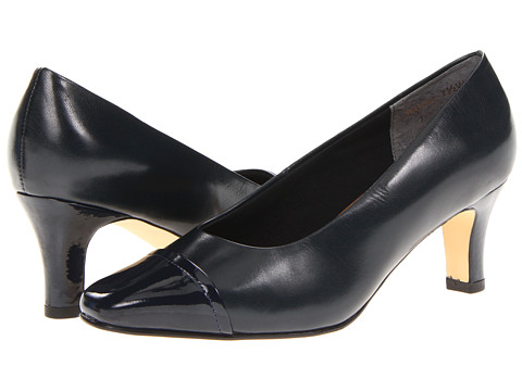Rose Petals - Race (Navy Kid/Patent) High Heels