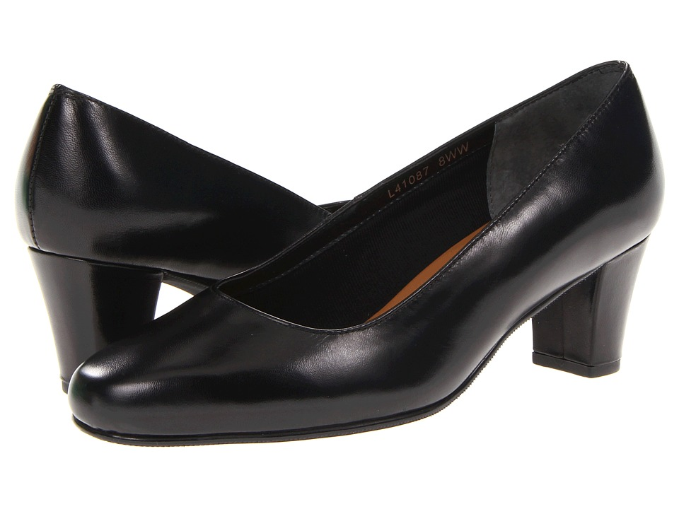 Rose Petals - Best (Black Kid) Women's 1-2 inch heel Shoes