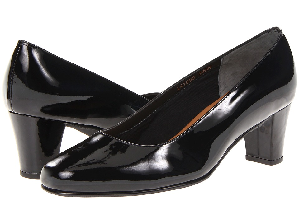 Rose Petals Best (Black Patent) Women