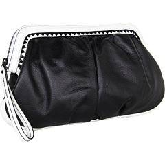 SALE! $126.99 - Save $151 on Nanette Lepore Fantasmic Clutch (Black White) Bags and Luggage - 54.32% OFF $278.00