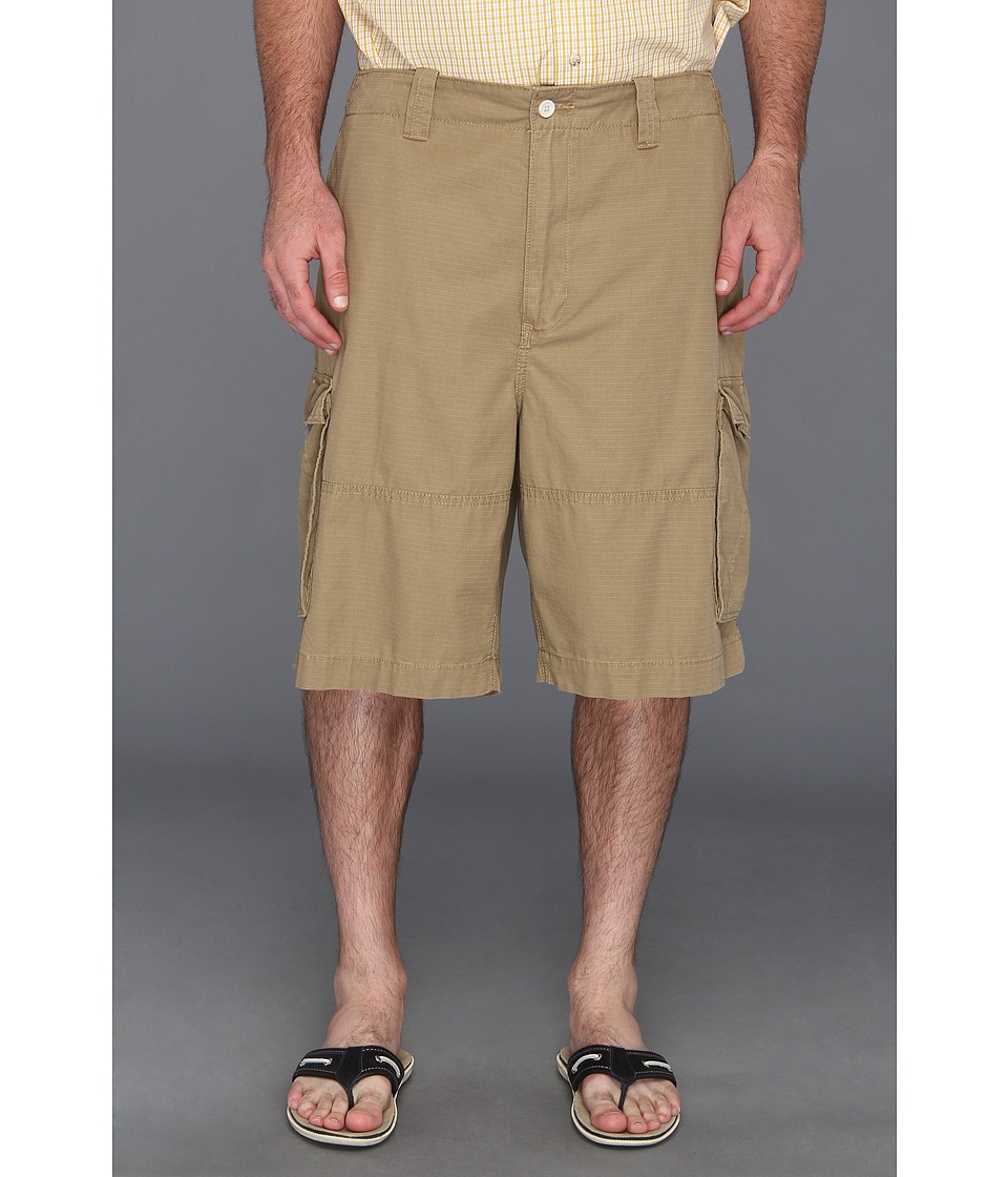 Nautica Big & Tall - Big Tall Ripstop Cargo Short (Tuscan Tan) Men's Shorts