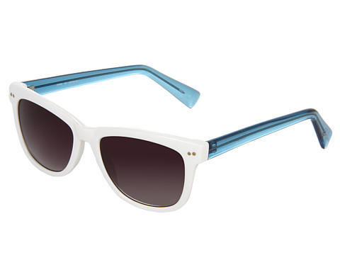 Cole Haan - C 6069 (White) Plastic Frame Fashion Sunglasses