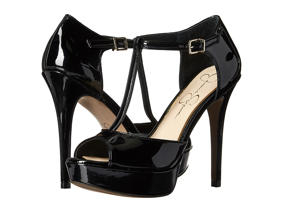 Jessica Simpson - Bansi (Black Patent) High Heels
