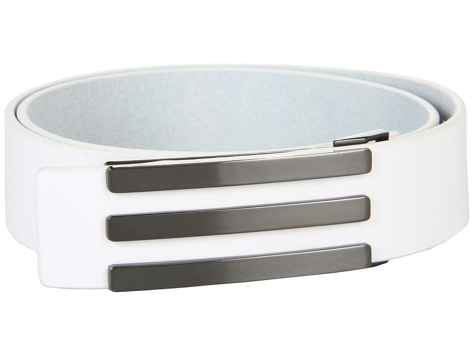 adidas Golf - Three Stripe Belt (White) Men