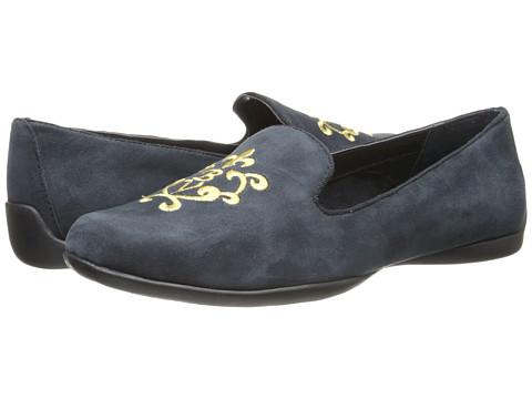 Bella-Vita - Crest (Navy) Women's Slip on Shoes