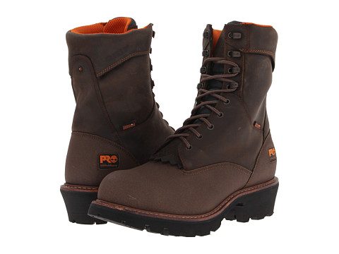 Timberland PRO - Rip Saw 9 Logger WP Steel Toe (Brown) Men's Work Boots
