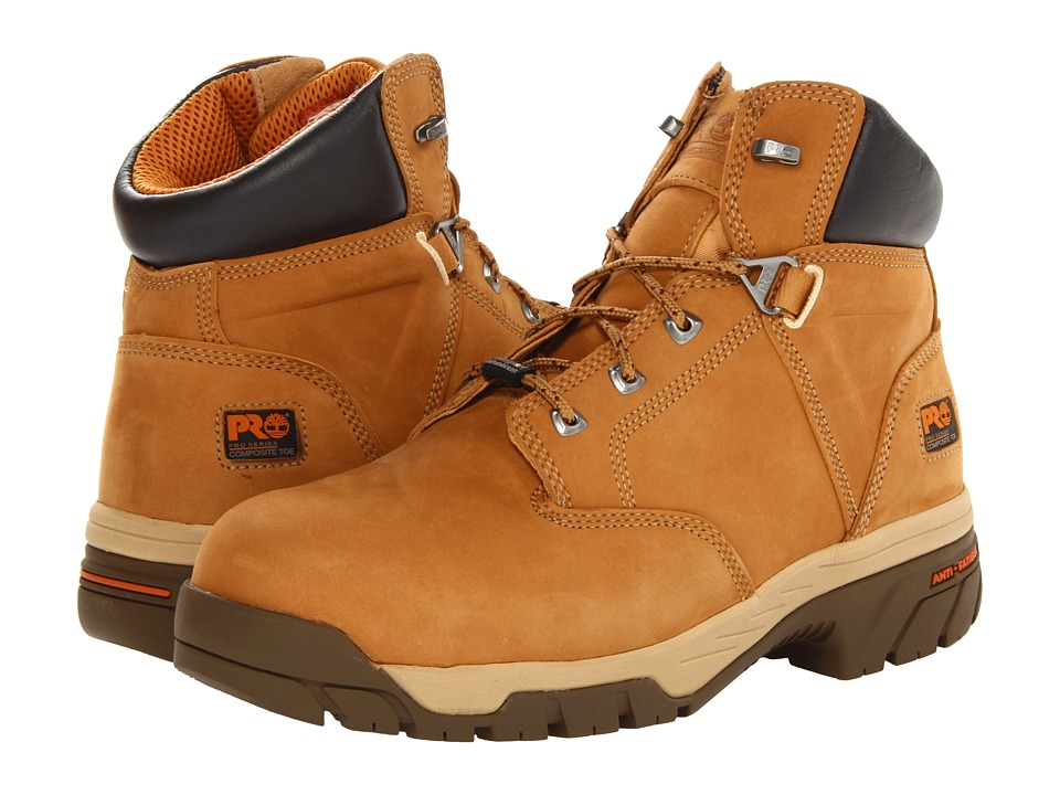 Timberland PRO - Helix 6 WP Insulated Comp Toe (Wheat) Men's Work Boots