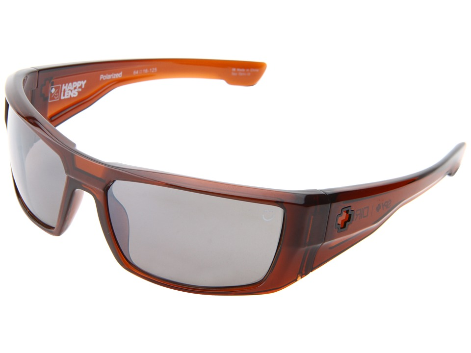 Spy Optic - Dirk (Happy Lens) (Brown Ale-Happy Brown Polar W/Black Mirror) Sport Sunglasses