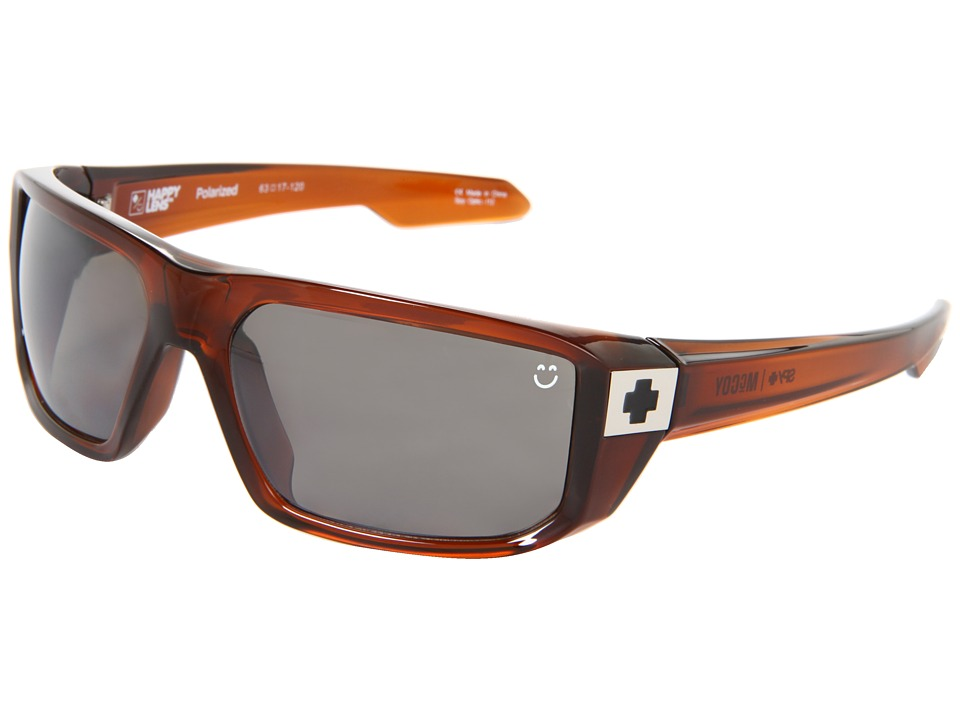 Spy Optic - McCoy (Happy Lens) (Brown Ale-Happy Brown Polar W/Black Mirror) Sport Sunglasses