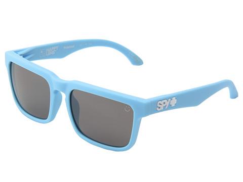 Spy Optic - Helm (Happy Lens) (Matte Blue-Happy Bronze Polar W/Black Mirror) Fashion Sunglasses