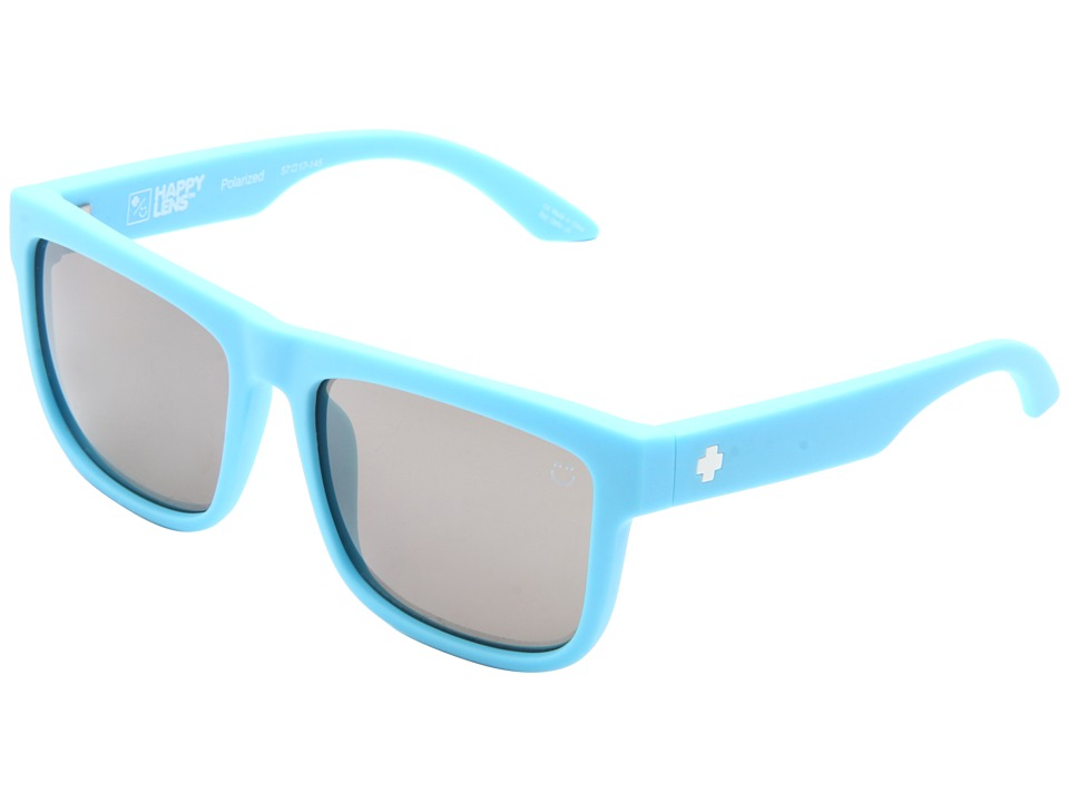 Spy Optic - Discord (Happy Lens) (Matte Blue/Happy Bronze Polar W/Black Mirror) Sport Sunglasses