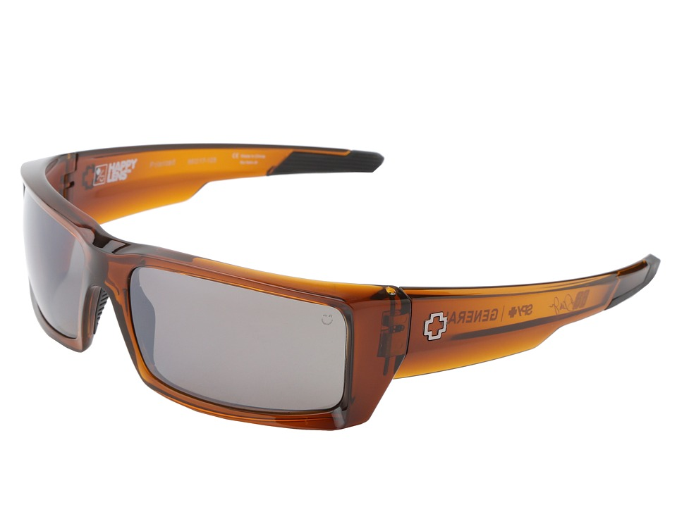 Spy Optic - General (Happy Lens) (Brown Ale-Happy Brown Polar W/Black Mirror) Sport Sunglasses