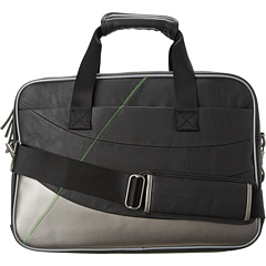 SALE! $96.99 - Save $63 on ECCO Performance 17 Laptop Briefcase (Black Meadow Green) Bags and Luggage - 39.38% OFF $160.00