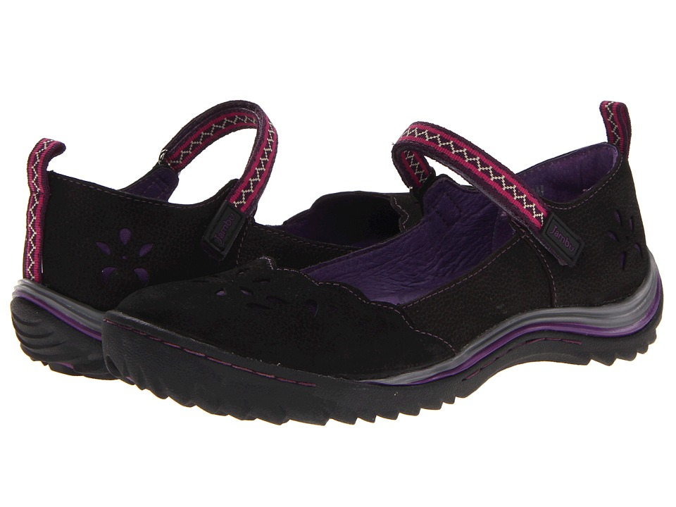 Jambu - WJ13BKS (Black/Purple) Women's Shoes