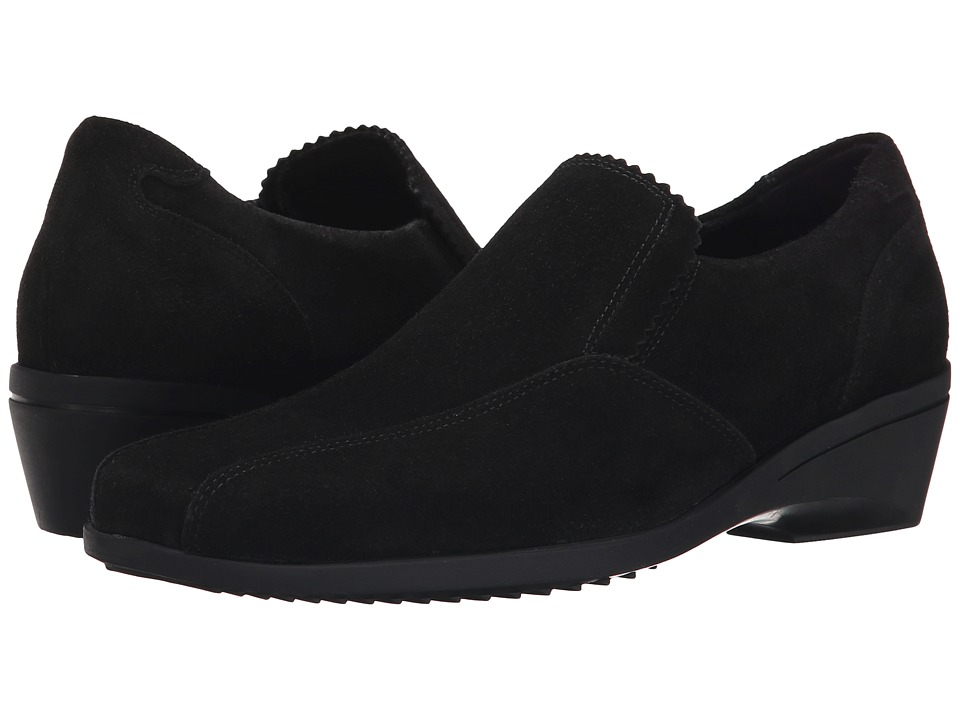 La Canadienne - Erica (Black Suede) Women's Shoes