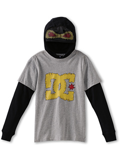 SALE! $14.99 - Save $25 on DC Kids Beastly 2fer L S Tee (Big Kids) (Heather Grey) Apparel - 62.05% OFF $39.50
