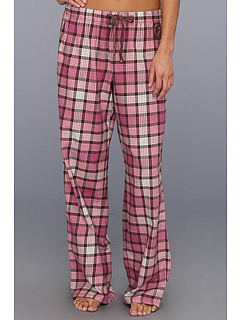 SALE! $17.99 - Save $16 on Life is good Plaid Flannel Sleep Pant (Dark Brown Blush Pink Plaid) Apparel - 47.09% OFF $34.00