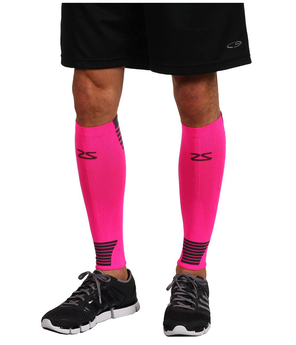 Zensah - Ultra Compression Leg Sleeves (Neon Pink) Athletic Sports Equipment