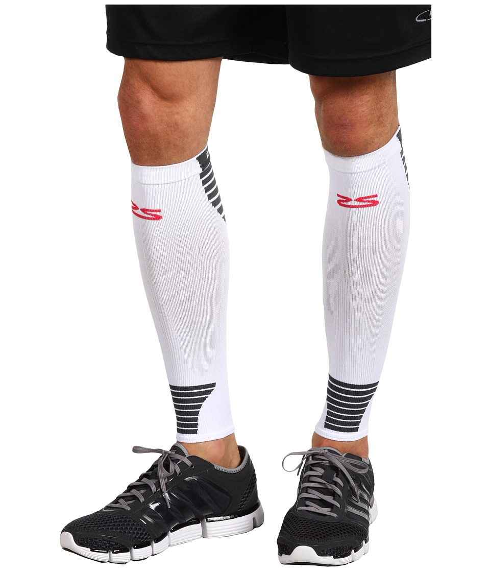 Zensah - Ultra Compression Leg Sleeves (White) Athletic Sports Equipment