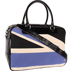 SALE! $61.99 - Save $48 on Ben Sherman Union Print Holdall (Black) Bags and Luggage - 43.65% OFF $110.00