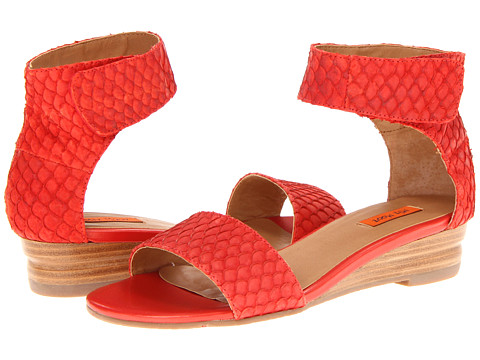 Miz Mooz Papaya (Red) Women's Sandals