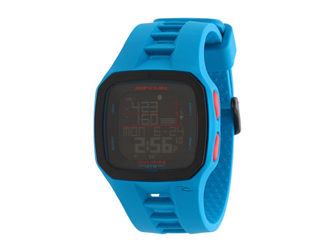 Rip Curl - Trestles Pro World Tide Time (Blue) Watches