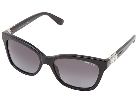 Jimmy Choo - Mimi/S (Black/Gray Gradient) Fashion Sunglasses