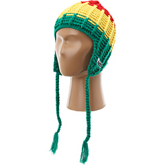 SALE! $16.99 - Save $9 on Neff Boomer Beanie (Rasta Fa 13) Hats - 34.65% OFF $26.00