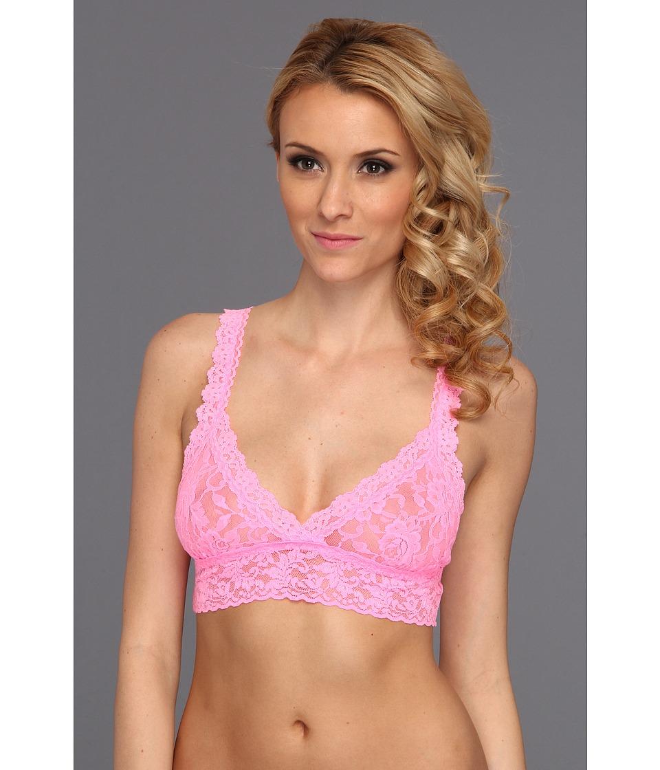 Hanky Panky - Signature Lace Crossover Bralette 113 (Glo Pink) Women's Bra