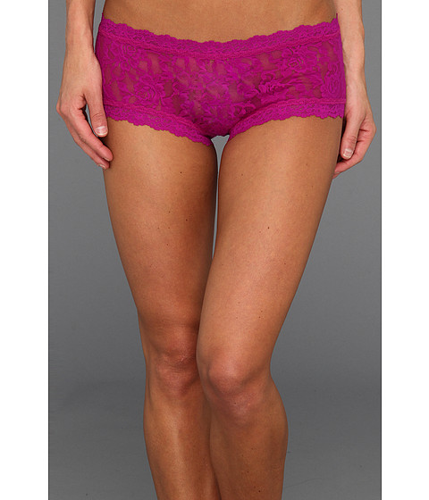 Hanky Panky - Signature Lace Boyshort (Hot Fuchsia) Women