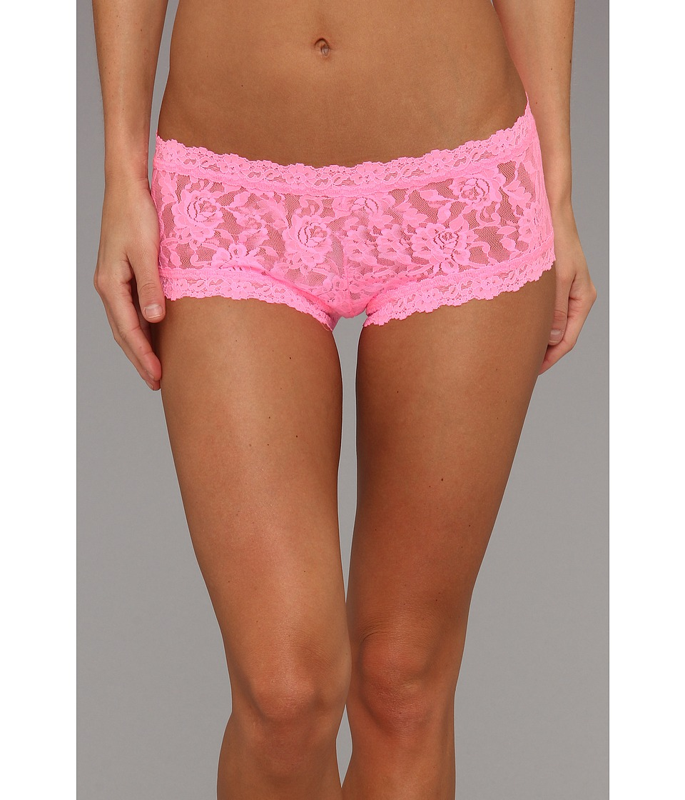 Hanky Panky - Signature Lace Boyshort (Glo Pink) Women's Underwear