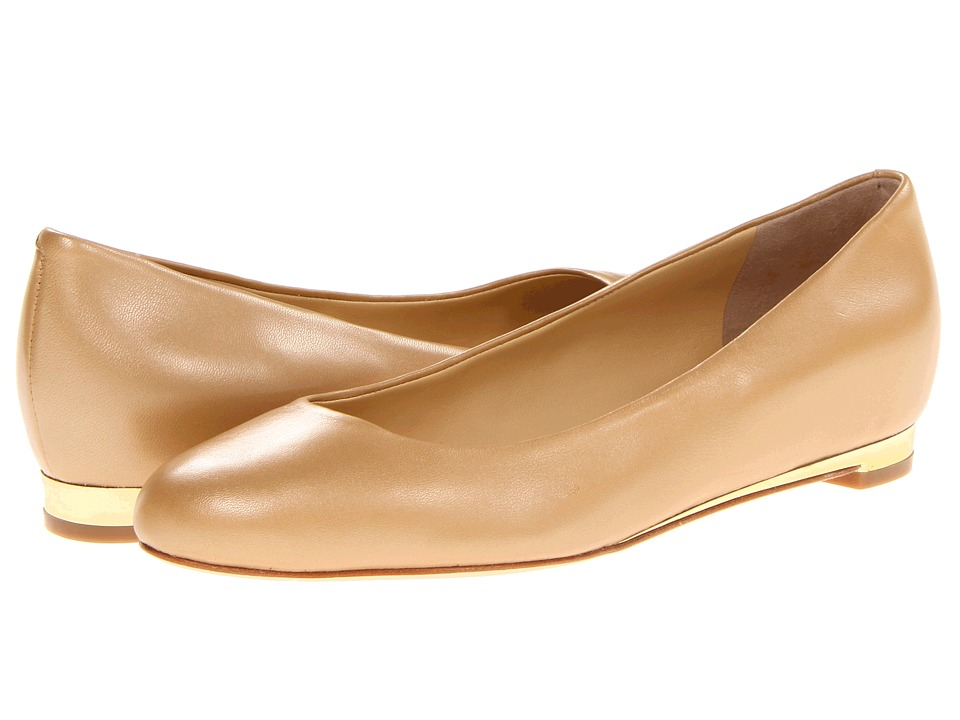 Cole Haan - Astoria Ballet (Sandstone Gold Washed) Women