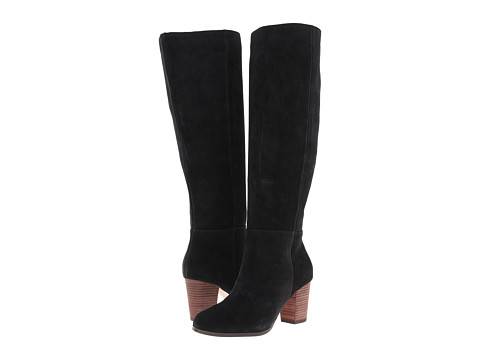 Cole Haan - Cassidy Tall Boot (Black Suede) Women's Boots