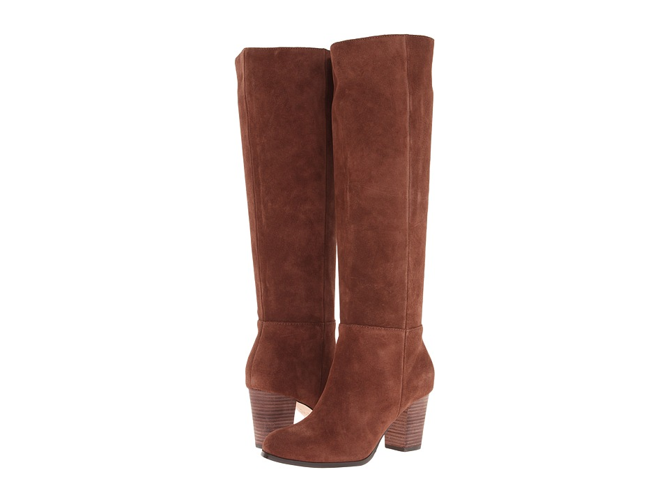 Cole Haan Cassidy Tall Boot (Chestnut Suede) Women