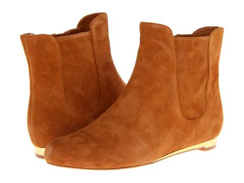 Cole Haan - Astoria Short Boot (Camello Suede) Women's Boots