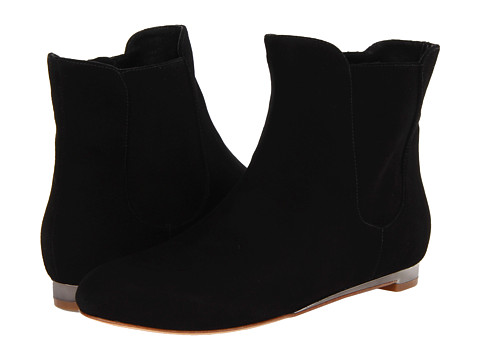 Cole Haan - Astoria Short Boot (Black Suede) Women