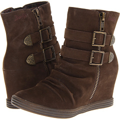 Blowfish Top Notch (Dark Brown Fawn) Footwear
