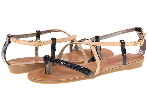 Pink & Pepper - Illa (Bone/Black) Women's Sandals