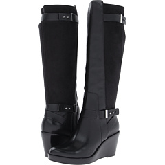 Cole Haan Fulton Wedge Boot (Black) Footwear