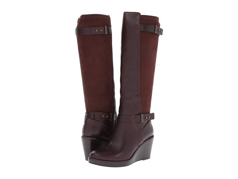 Cole Haan Fulton Wedge Boot (Chestnut) Women