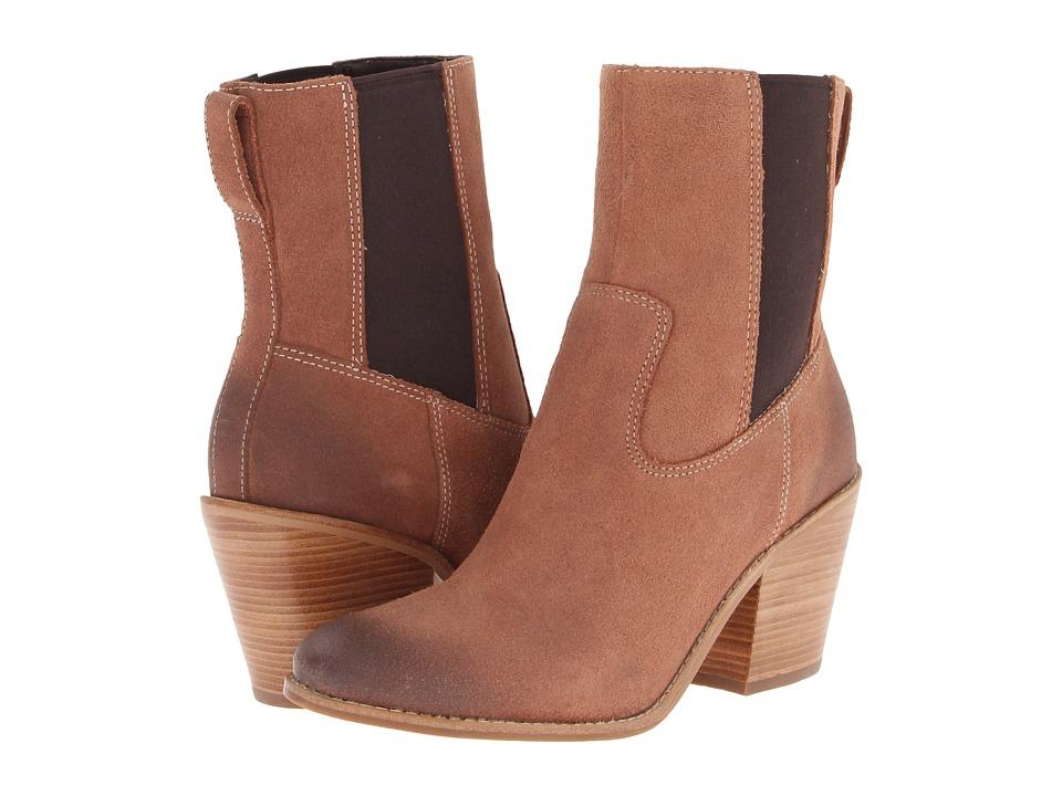 Cole Haan Graham Short Boot (Sequoia Suede) Women