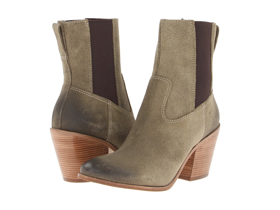 Cole Haan - Graham Short Boot (Fatigue Suede) Women's Boots